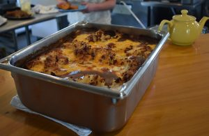 Shepherds Pie fresh from the oven