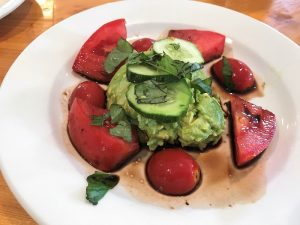 Tomato Avocado Salad with Balsamic